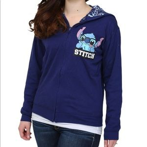 Disney Stitch Reversible Hoodie